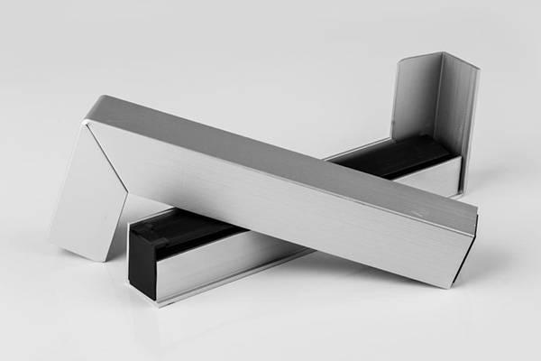 Aluminium Fensterbank Zuschnitt auf Ma/ß Fensterbrett Ausladung 240 mm wei/ß anthrazit dunkelbronze silber